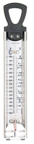 Kitchen Craft Home Made Deluxe Stainless Steel Cooking / Jam Thermometer